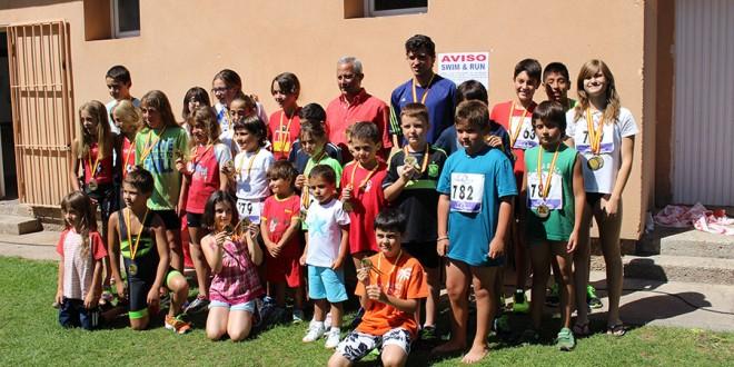 Amplia participación en el duatlón Swim & Run