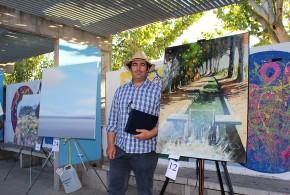 Un paisaje de la acequia gana el concurso de pintura rápida