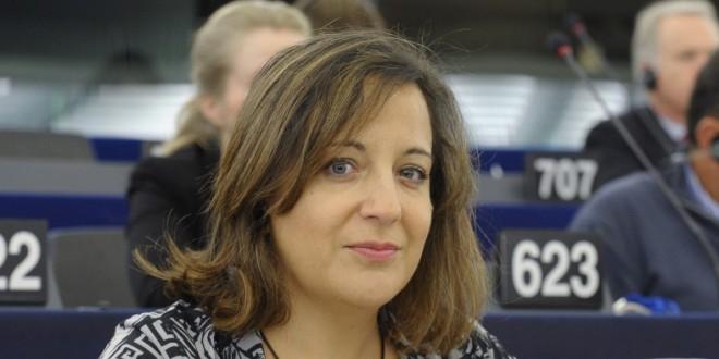 La lagunera Iratxe García, nueva jefa de los socialistas españoles en Bruselas