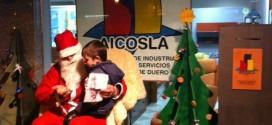 Papá Noel recogerá este viernes las cartas de los niños con AICOSLA