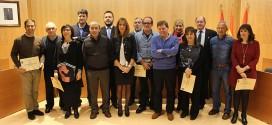 Homenaje a nueve trabajadores municipales por sus 25 años de servicio