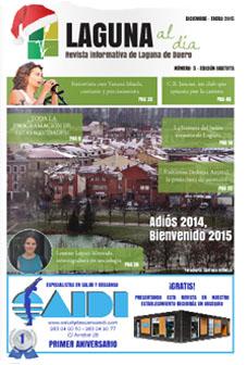 Portada de la quinta edición de la revista Laguna al día