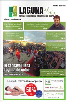 Portada de la secta edición de la revista Laguna al día