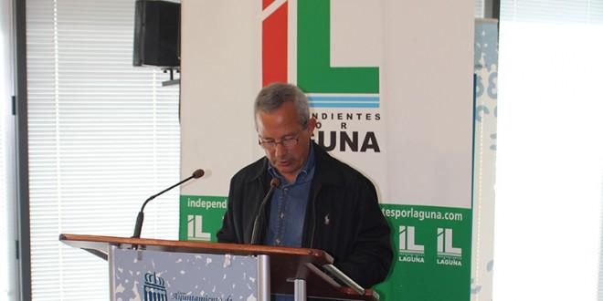 Román Rodríguez, candidato a la alcaldía por Independientes por Laguna