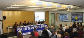 La Mesa de Transporte insiste en la prioridad del sistema metropolitano