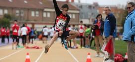 Vara y Prieto monopolizan los pódiums del atletismo base