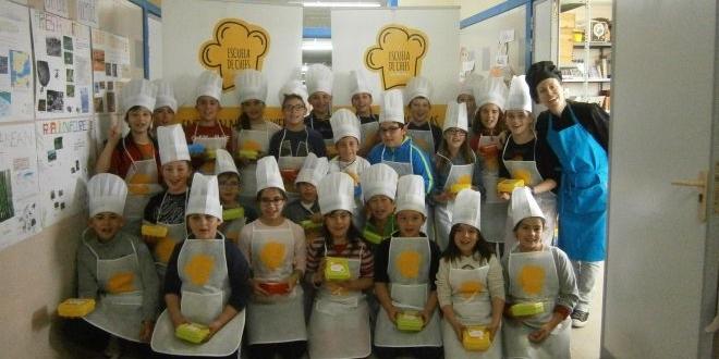 """El CEIP Ntra. Sra. Del Villar aprende a """"cocinar"""""""