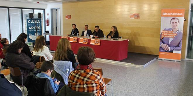 """Ciudadanos presenta una candidatura que apostará por la """"transparencia y la participación"""""""