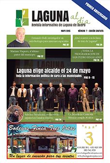 Portada de la séptima edición de la revista Laguna al día