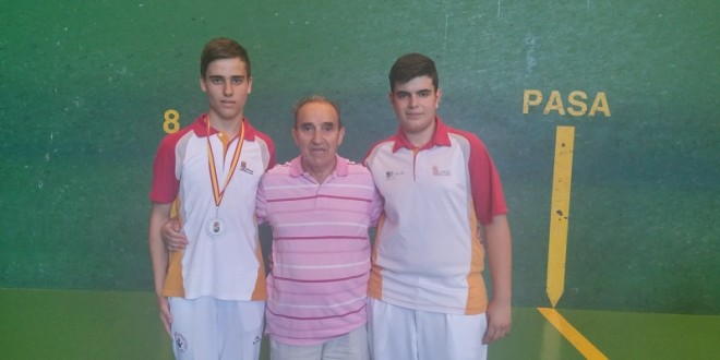 Tres medallas para el Club de Pelota en los nacionales