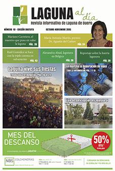 Portada de la décima edición de la revista Laguna al día