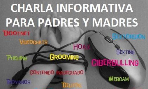 Charla informativa para padres  y madres sobre los menores y las redes sociales
