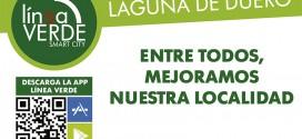 Los laguneros se vuelcan participando a través del servicio Línea Verde