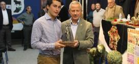 Mario Pérez Langa galardonado como triunfador de las pasadas fiestas patronales