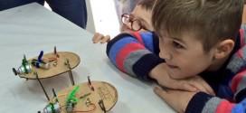 El taller de Bicho-Robots, la novedad del carnaval para los más pequeños
