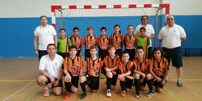 El Laguna F.S pasa a los cuartos de final del Campeonato de España Alevín