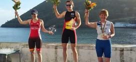 Ruth Varona, segunda en el quadriatlon de Terceira