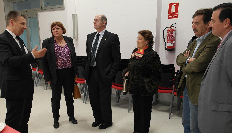 La Cónsul General francesa visita Laguna de Duero