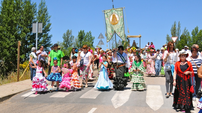 Laguna disfrutará este fin de semana de su Romería del Rocío