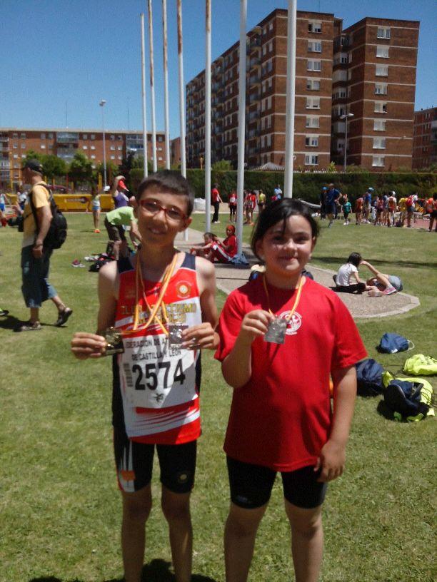 Buenos resultados para el  Club Atletismo Laguna en el Campeonato Autonómico en Pista al Aire Libre