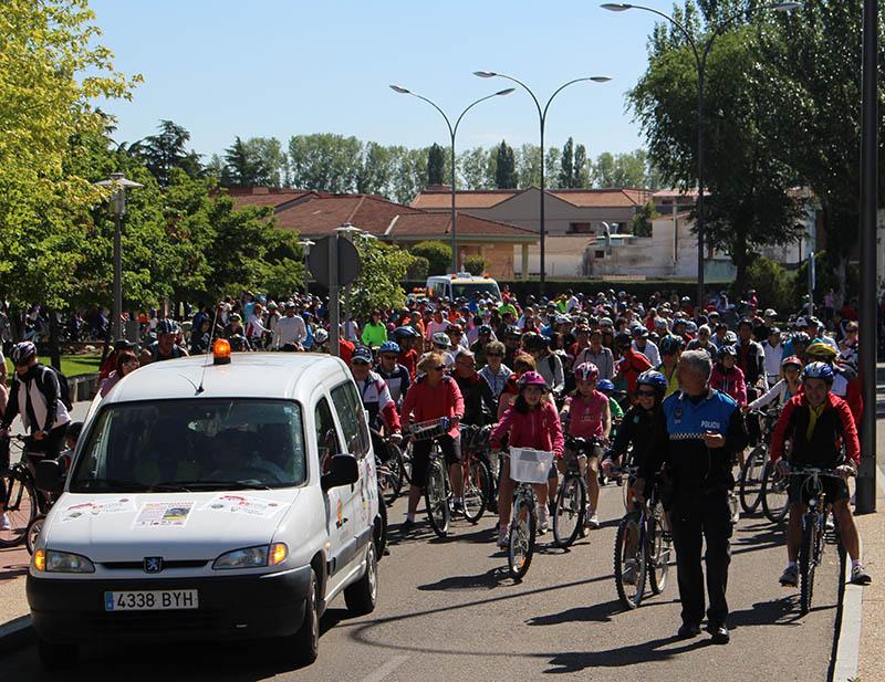 Récord de participación en la Bicicletada contra la droga