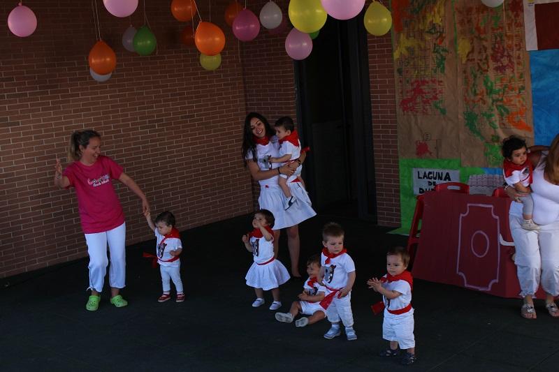 La Escuela Colorines cierra el curso rememorando las fiestas de Laguna