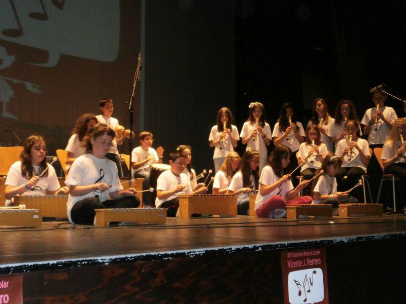 El CEIP Nuestra Señora del Villar participa en el XV Encuentro Musical Escolar Vicente J. Herrero