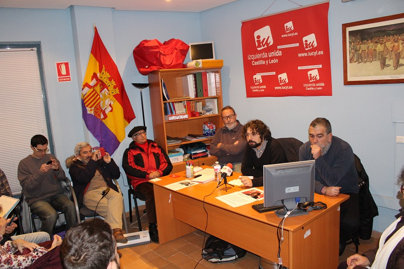 """Sarrión (IU): """"necesitamos un plan de inversión para que los jóvenes no se vayan de Castilla y León"""""""