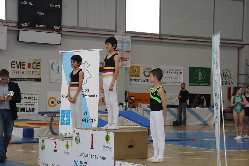 Gran actuación de los hermanos Toribio González en la Copa Internacional de Galicia de Trampolín