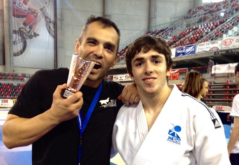 Alberto Gaitero bronce en el Campeonato de España absoluto