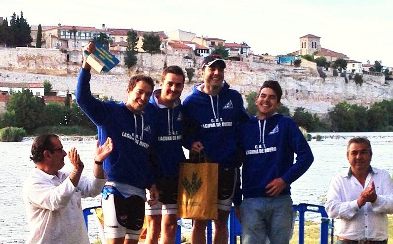 Victoria por equipos del C.D Triatlón Laguna en Zamora