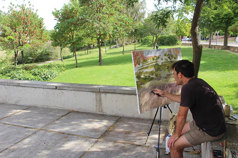 El concurso de pintura rápida 'Pinta mi pueblo' y el Certamen infantil de dibujo y pintura repartirán 2.100 euros en premios
