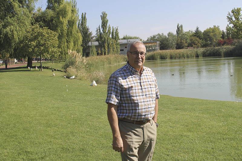 Mariano Carretero, el maestro que puso en valor la riqueza natural del lago