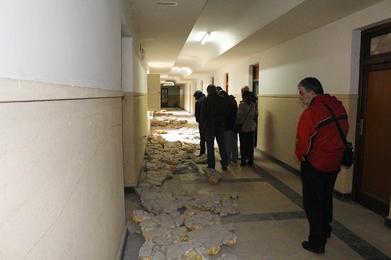 El Grupo Municipal de Izquierda Unida visita el edificio Juan de Austria