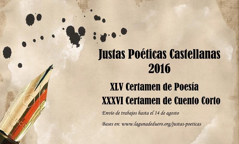 El Consistorio abre el plazo de presentación de trabajos para las Justas poéticas castellanas