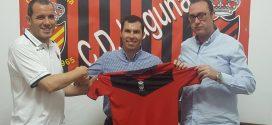 El C.D Laguna presenta a Patricio Valles como entrenador en Primera Provincial