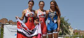 Gran papel de los triatletas laguneros en el Ciudad de Valladolid