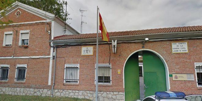 """La AUGC denuncia que el cuartel de Laguna está """"en ruinas"""""""