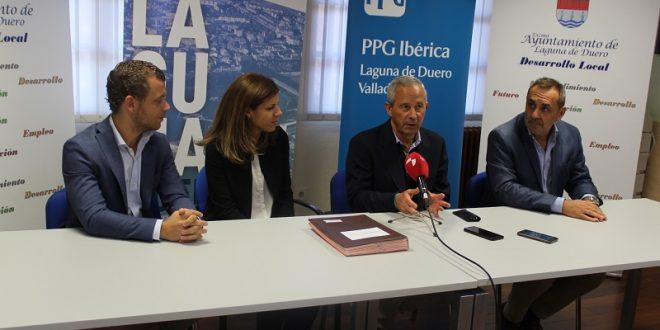 Ayuntamiento y PPG Ibérica unen esfuerzos en materia de empleo