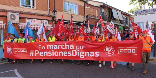 La Marcha por las pensiones dignas llega a Laguna
