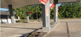 IU-LEM insta al desmantelamiento de la antigua gasolinera de la Ponderosa
