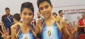 Los hermanos Toribio se quedan a las puertas de las medallas en el mundial de Bulgaria