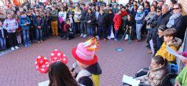 Los colegios de Laguna reivindican los derechos de la Infancia