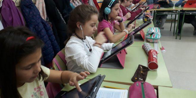 El CEIP Ntra. Sra. del Villar introduce las tablets en las aulas a través de un proyecto de integración de estos dispositivos
