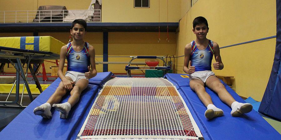 El futuro de la gimnasia acrobática en España tiene apellido 'Toribio'