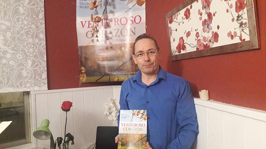 José Antonio Guadarrama publica su primer poemario