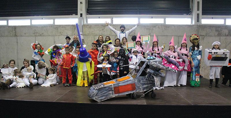 La pasarela infantil de carnaval premiará este domingo los disfraces más originales