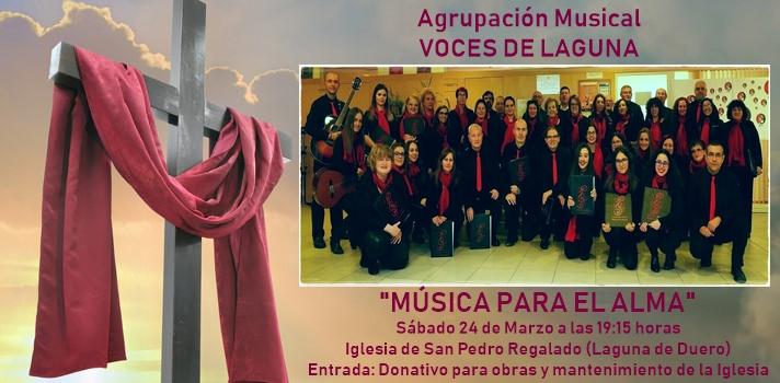 'Voces de Laguna' actúa este sábado en favor de la Iglesia de San Pedro Regalado