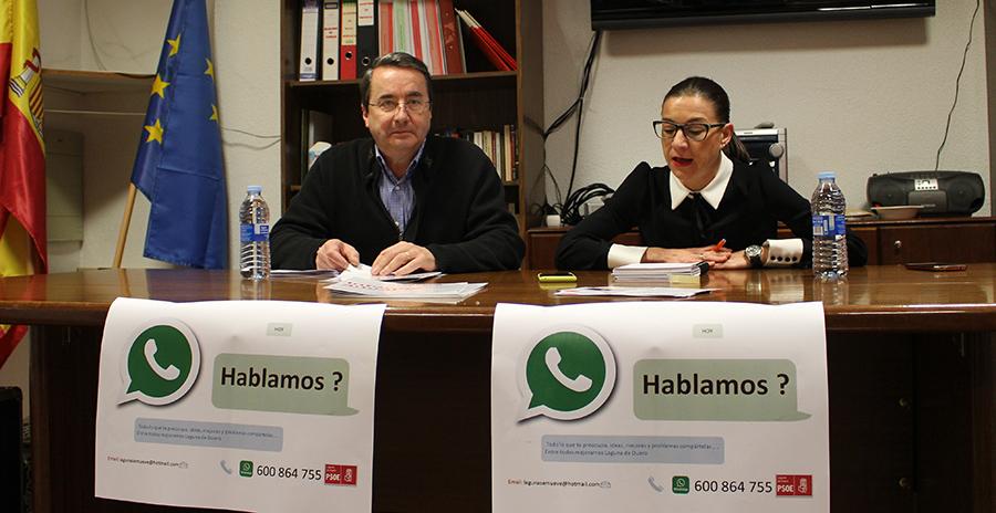 El PSOE de Laguna pone en marcha la campaña 'Hablamos' para conectar con los vecinos