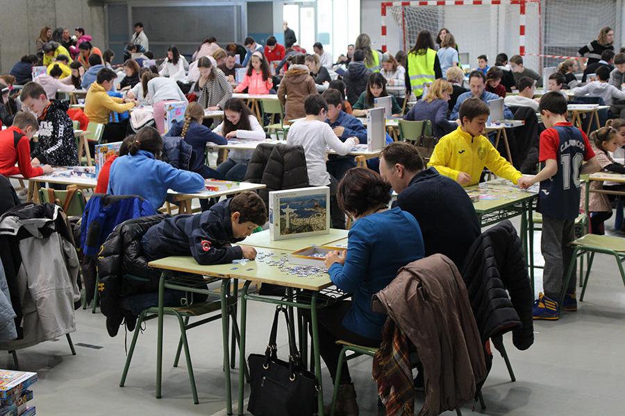 El VI Campeonato de puzles buscará mejorar sus cifras de participación